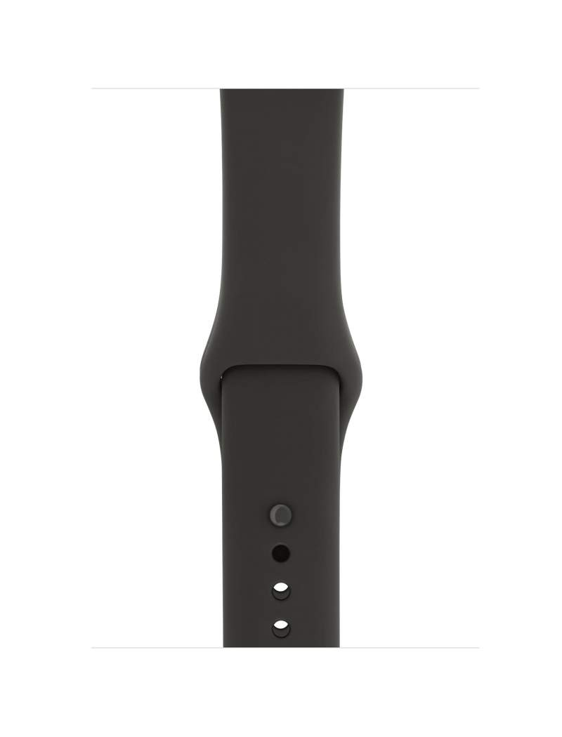 Apple Watch Series 3 GPS + Cellular 38mm Gray Ceramic Case with Gray/Black Sport Band MQK02